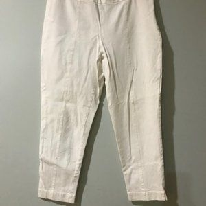 Chico White Ankle Pants 1.5 (10)